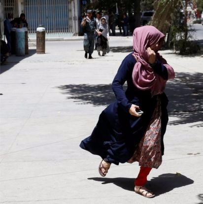 People In Kabul Panic Due to Attack