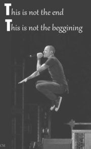 chester bennington message
