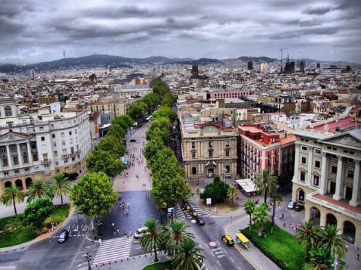 The loving city of Barcelona