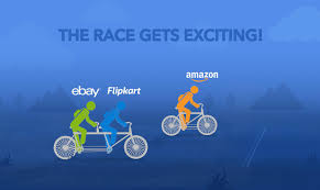 eBay and Flipkart together in the Race against Amazon